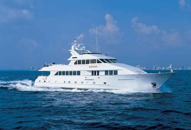 Motor yacht SHOGUN